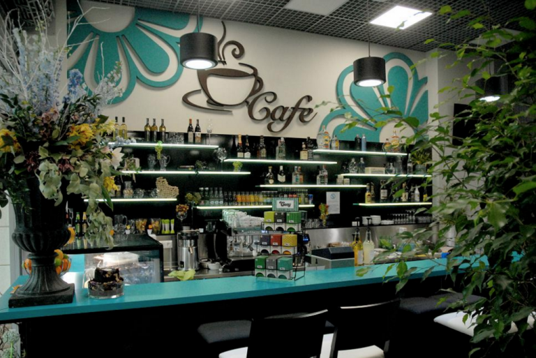 Kvety victor cafe